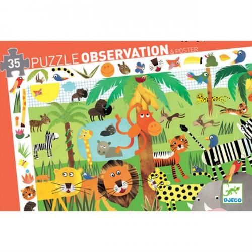 Puzzle observation Selva 35 pcs